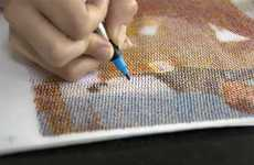Human CMYK Printers - The Human Printer is an Incredible Project That Shows Humans Printing by Hand