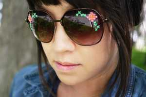 Create Couture-Worthy Stylish Sunglasses with this Simple Tutorial