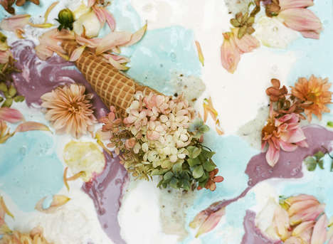 Flowers and Ice Cream