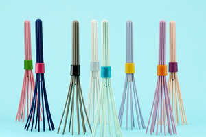 The New Colorful BEATER Whisk is Modernly Compact