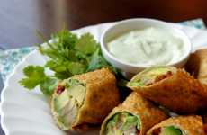 Meatless Avocado Eggrolls