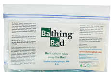 Drug-Inspired Bathtub Accessories