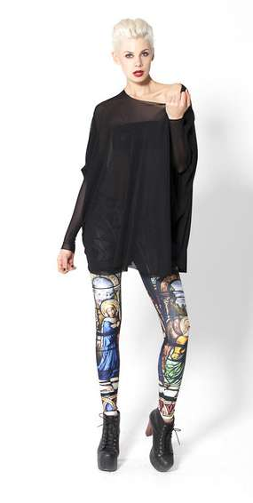 Cathedral Leggings by Black Milk