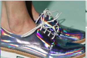 These Hologram Shoes by Miista Zoe are Amazingly Sci-Fi and Chic