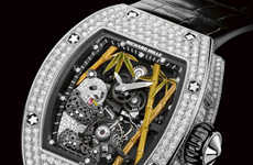 Kitschy Luxury Timepieces - Richard Mille Exercises Creative Freedom