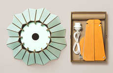 Chic Cardboard Light Fixtures