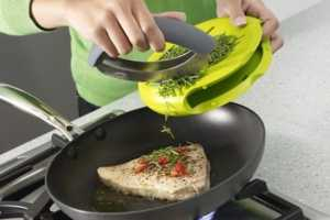 The Compact Herb Chopper is Stylish and Ergonomically Easy