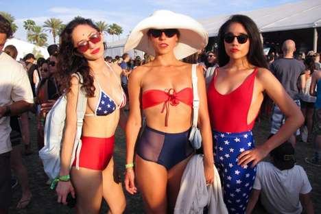 Bohemian Music Festival Fashion - The High Snobiety Coachella 2013 Photo Series is Hippie-Centric