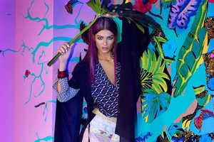The Elle Poland Emilia Nawarecka Editorial Features Kimonos