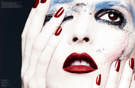 Experimental Makeup Editorials - Interview Germany