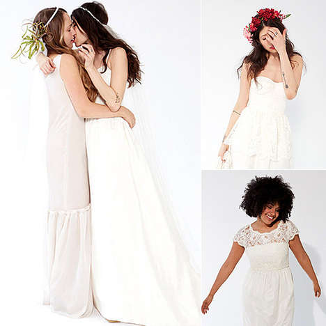 Bohemian Wedding Gowns - The Stone Fox Bride Spring 2013 Collection is For the Unconventional Bride