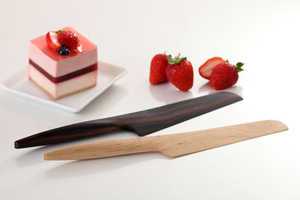 Fusion Wooden Kitchen Knives Elegantly Blend Eastern and Western Cultures