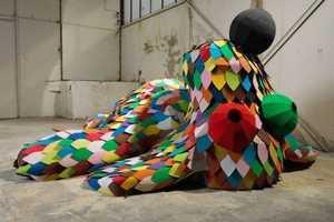 Primary School Children Helped Create This Animal Sculpture Series