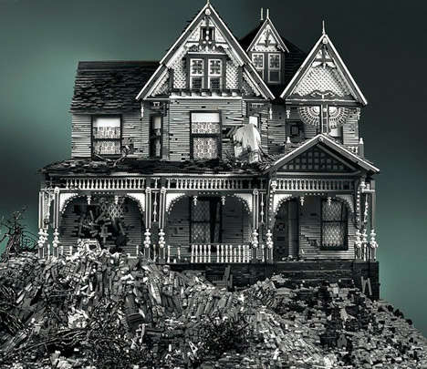Lego Haunted Houses