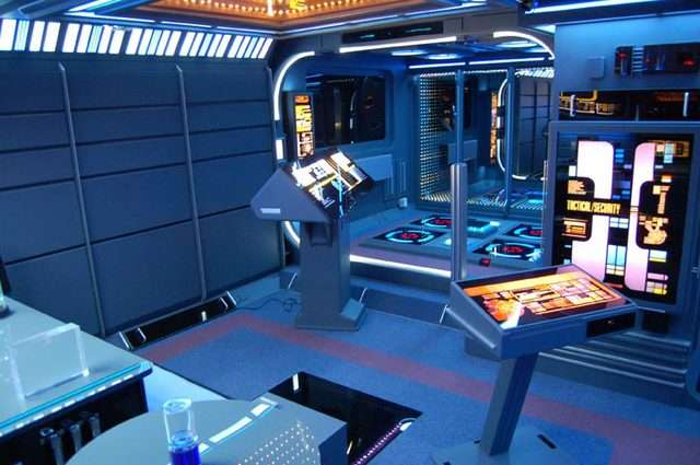 Enterprising Sci-Fi Man Caves