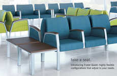 Chic Continuous Chairs
