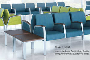 The Foster Line of Waiting Room Seats Allows for Stylish Comfort