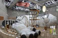 Giant Space Suit Installations - 'Mother Earth Sister Moon' is Home to a Fashion and Design Show