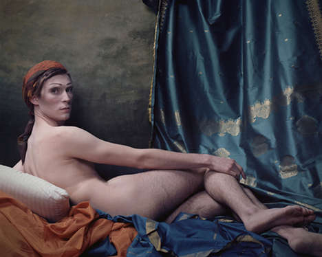 Erotic Victorian-Inspired Portraits - Art History by Genevieve Blais Critiques Today