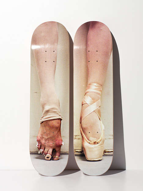 Battered Ballerina Skate Decks - Henry Leutwyler