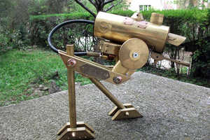 gozdom's AT-ST Lamp is a Retired Death Machine for Your Desktop