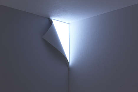 Peel Away Wall Lights - Enter Another Dimension With YOY's Illusion-Inducing Light Fixture