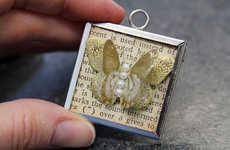 Create Beautiful Butterfly Pendant Necklaces with this Tutorial