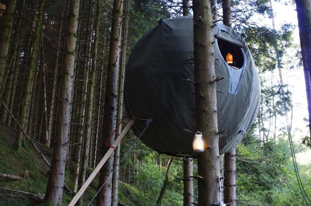Suspended Spherical Campers