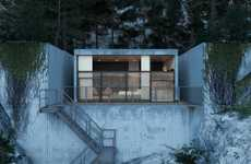 Chic Concrete Abodes - The Chair House by Igor Sirotov is Stark and Modern