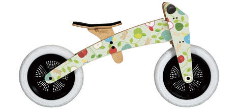 Fruity Toddler Tricycles - Illustrator Coralie Bickford-Smith Creates a Playful Child Bike Design
