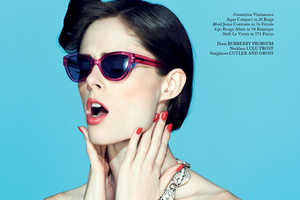 The Coco Rocha for Glass Spring 2013 Spread Channels Mod Styles