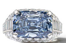 The World's Most Expensive Blue Diamond is Set in a Bulgari
