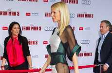 Gwyneth Paltrow Almost Bears it All at the Iron Man 3 Red Carpet Premiere