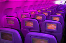 In-Flight Flirting Services - Virgin America Makes Canoodling Easier by Joining the Mile-High Club