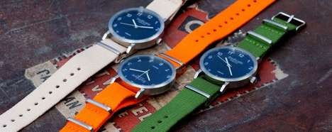 Minimalist Scandinavian Timepieces - The South-Lane Urbaner Collection Displays Modern Versatility