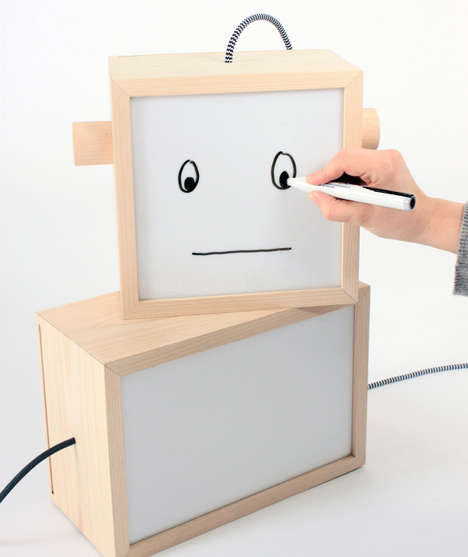 Illuminating Inspiration Boards - The LM Box by Domaas/Høgh is Modestly Multi-Functional