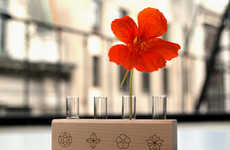 Room-Scaled Gardening Kits - These Edible Flower Kits Will Brightnen Up Any Room