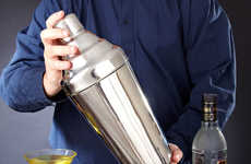 Gigantically Sleek Beverage Makers - The Sasquatch Cocktail Shaker Makes Drinks in a Grand Way