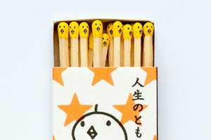Kokeshi's Matchsticks Art is a Cute Way to Create Fire