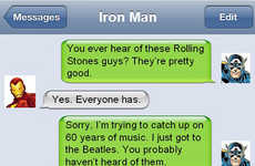 Witty Superhero Text Messages