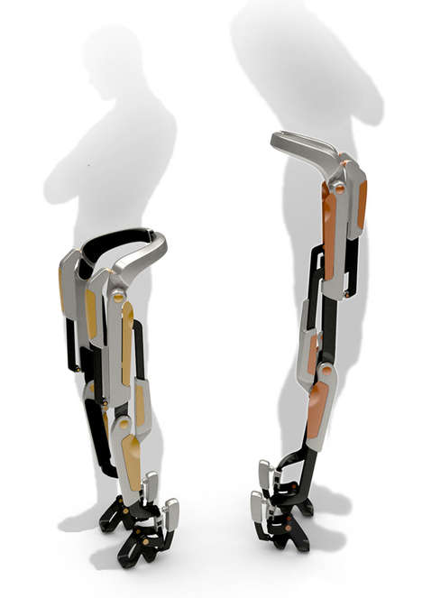 Robotic Running Suits - The 7-Miles Orthosis System Brings Ease and Efficiency to Travel on Foot