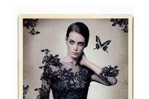 The Harrods Magazine May 2013 Shoot is Visually Mesmerizing
