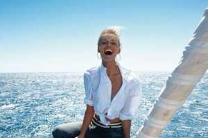 The Vogue Paris May 2013 Shoot Features a Beautiful Ocean Backdrop
