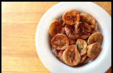 DIY Baked Banana Chips