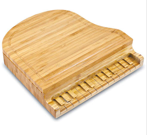 Musically Shaped Cheese Boards