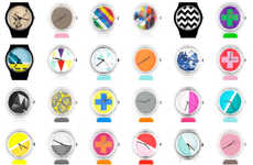 Customizable Tech Timepieces - These InstaWATCH Creations Turn Consumers Into Designers