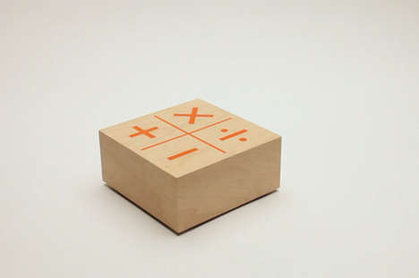Children-Geared Calculators - Knock Knock by Khalil Klouche is a Clever Tactile Educational Toy