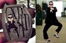 Designer Franck Muller Creates a Gangnam Style Watch for PSY