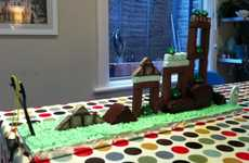 Angry Birds Food From Eloborate Gamer Cakes to Tasty Avian Treats