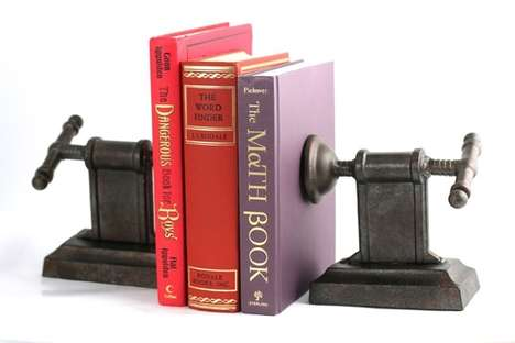 Vice Grip Bookends